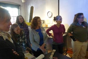 Participants at Barry Van Dusen's Workshop
