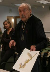 photo of gnsi-ne member dick rauh sharing his portfolio